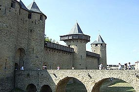 Carcassonne Cite entrance